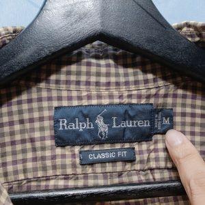 Polo by Ralph Lauren Shirts - Ralph Lauren Brown Plaid